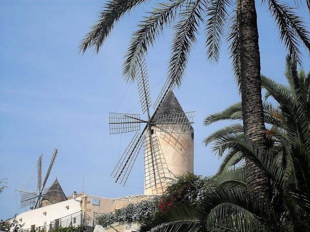 molino de viento en Palma de mallorca
