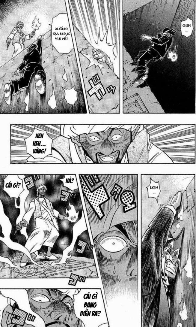 YUGI-OH! chap 279 - báu vật ngàn năm trang 19