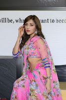 Actress Angela Krislinzki in Pink Saree Blouse Exclusive Pics March 2017 ~  037.JPG