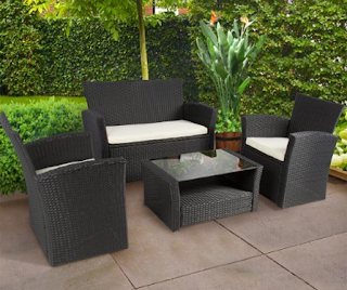 Best Choice Products 4pc Outdoor Patio Garden Furniture Wicker Rattan Sofa Set Black, Best Choice Products Rattan Wicker Sofa Sets, Outdoor Sofa Sets, Outdoor Sofas, Outdoor Furniture, Best Choice Products, Best Choice Products Wicker Sofa Sets, Outdoor Sofa Sets, Sofa Sets, Wicker Sofa Sets,