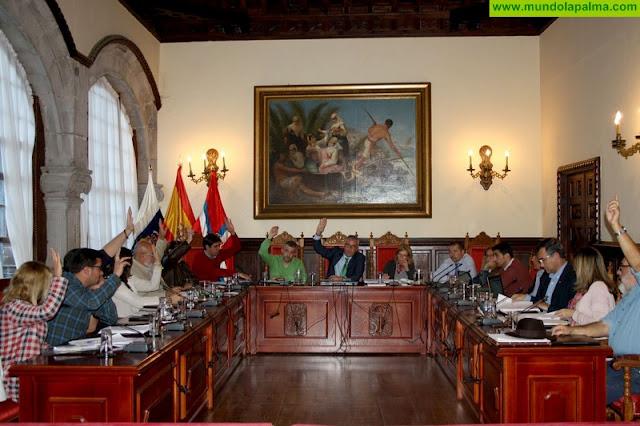 El Ayuntamiento de Santa Cruz de La Palma aprueba sus presupuestos para el año 2018