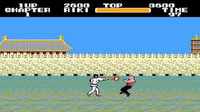 Black Belt, la versión occidental en Sega Master System de El Puño de la Estrella del Norte