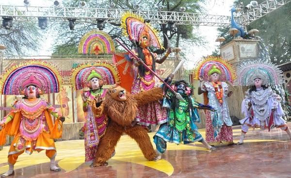 Jhandkhand Theme at 31st Surajkund Mela