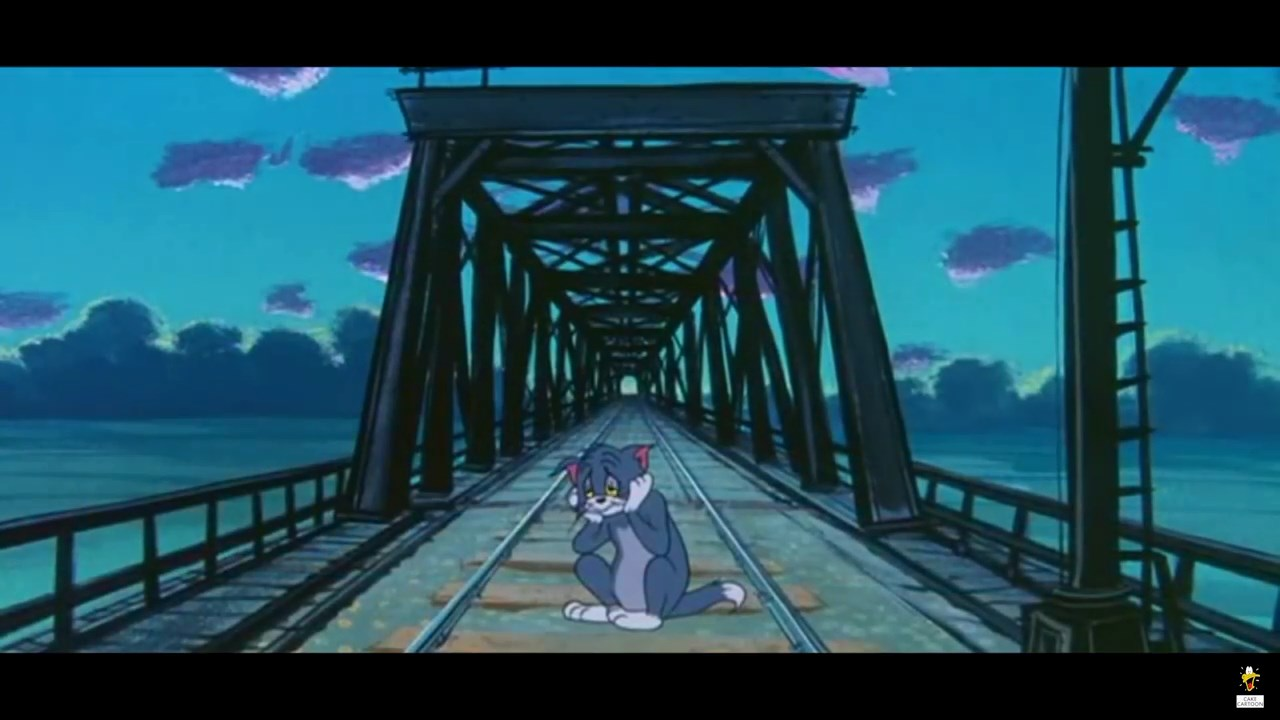 Tom and jerry blue cat blues