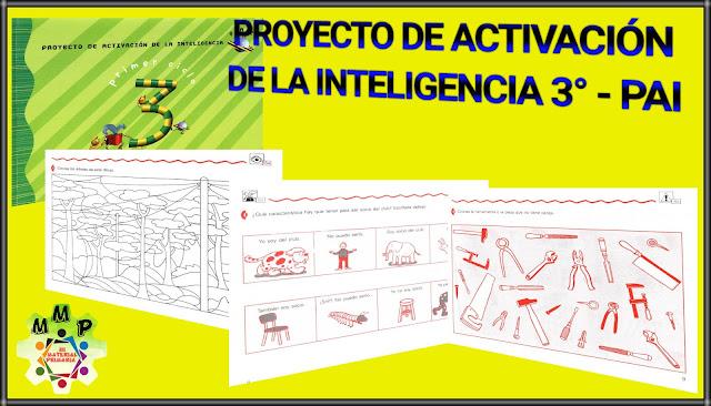PROYECTO DE ACTIVACIÓN DE LA INTELIGENCIA 3-PAI-
