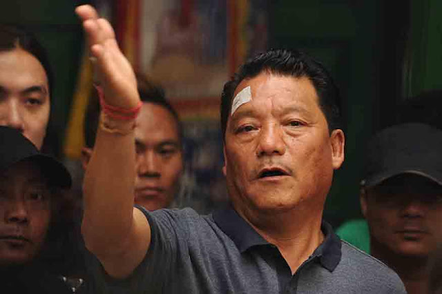 Gorkha Janmukti Morcha supremo Bimal Gurung