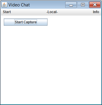 TechDev Blog: JMF Video Chat Explained - Local Webcam Access