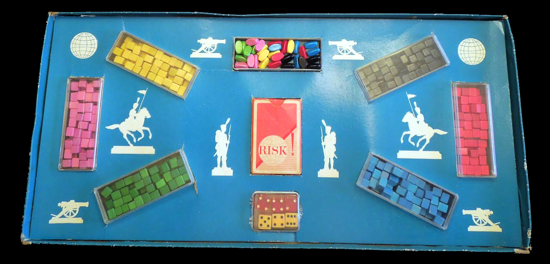 Risk first version 1959 - box opened top-view