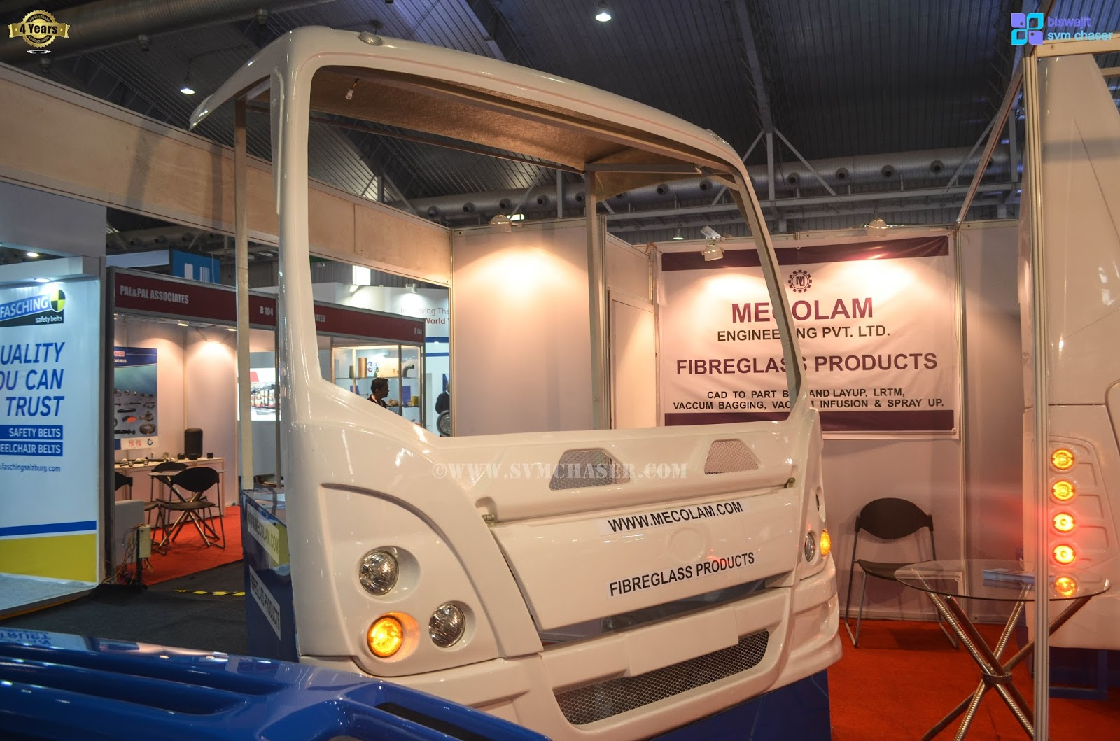 Biswajit Svm Chaser Mecolam Engineering Pvt Ltd At Bus World India 2016