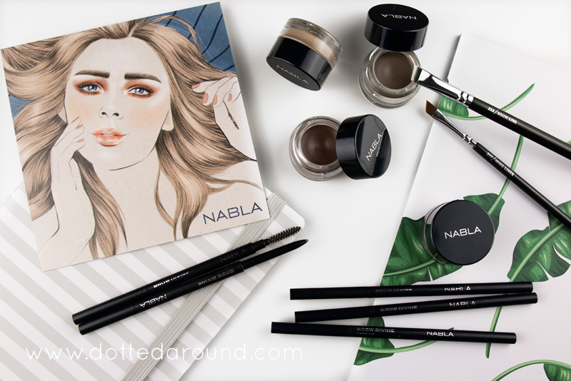La Credenza Di Nonna Nara : Nabla brow pot vs divine swatch review dotted around