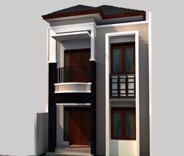 2 Floor Building Elevation Design photo