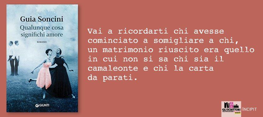 Qualunque cosa significhi amore, di Guia Soncini