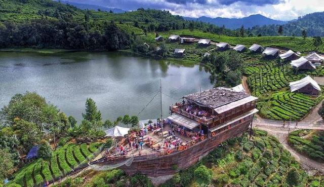 Glamping Lakeside, Primadona Wisata di Bandung Selatan