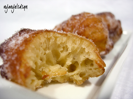 A daily sweet: Bunyols de Quaresma