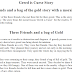 Three Friends and a Bag of Gold- English Story