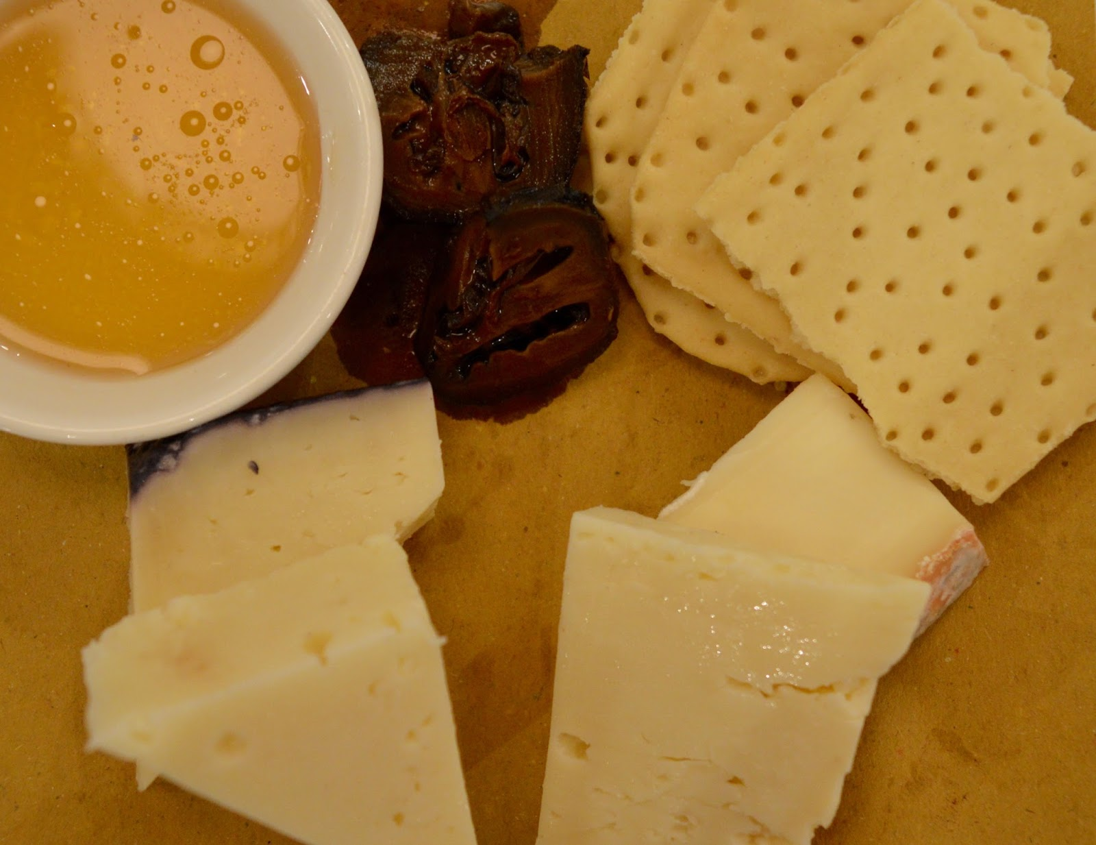 Carluccio's - intu Metrocentre | Children's Menu Review - Italian cheese platter with honey