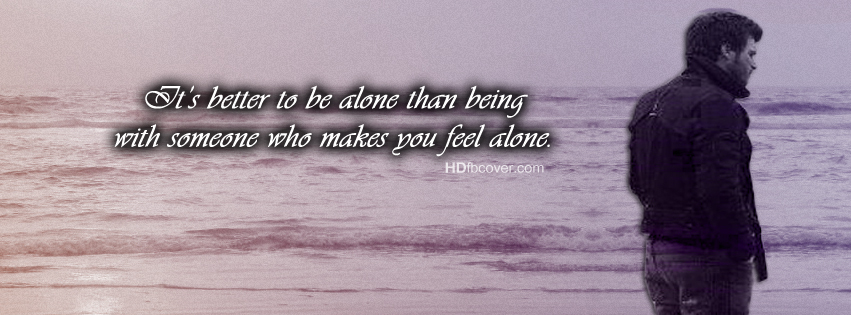Alone Quotes - Latest ...I Am Alone Boy Cover Photos