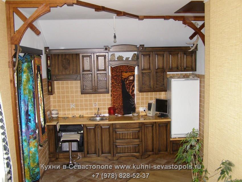 Деревянные кухни дешево Севастополь