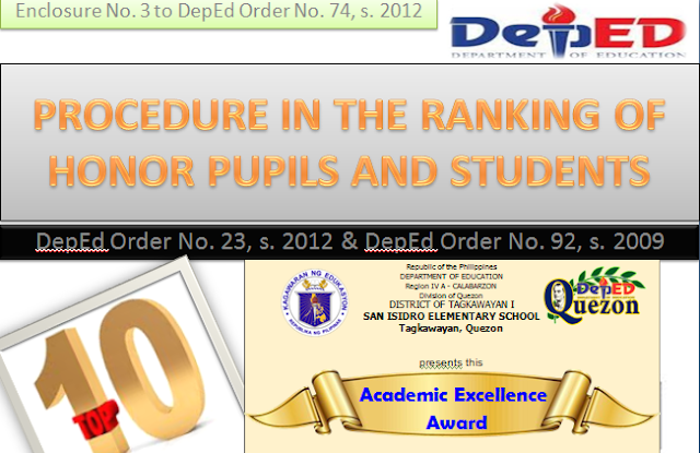 definition academic excellence