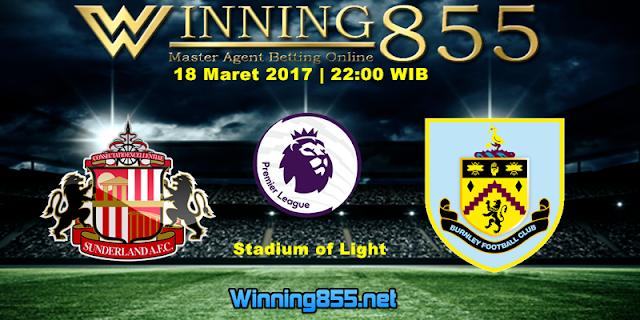 Prediksi Skor Sunderland vs Burnley 18 Maret 2017