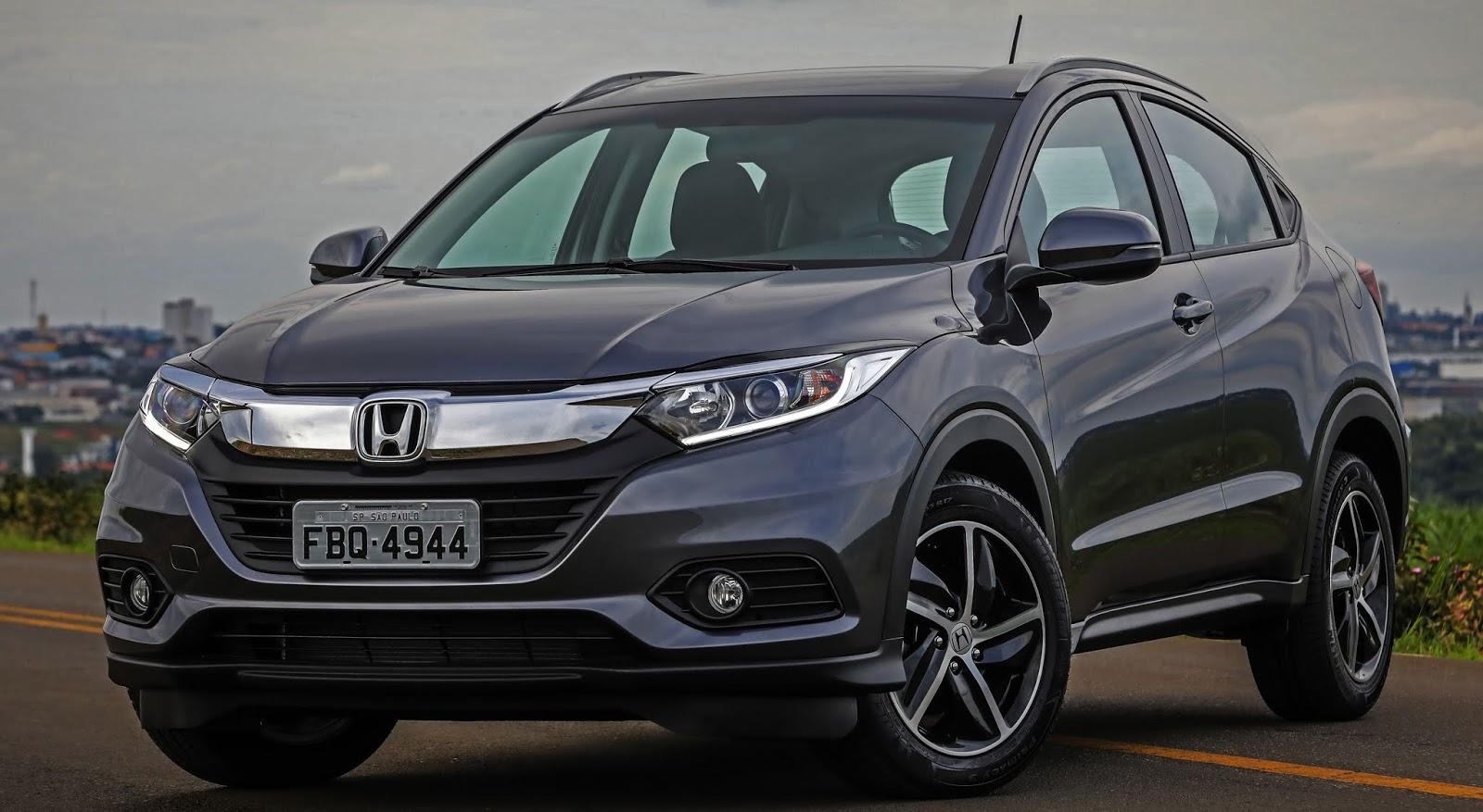 Honda Hr V Chega A Linha 2019 Reestilizado E Mais Equipado