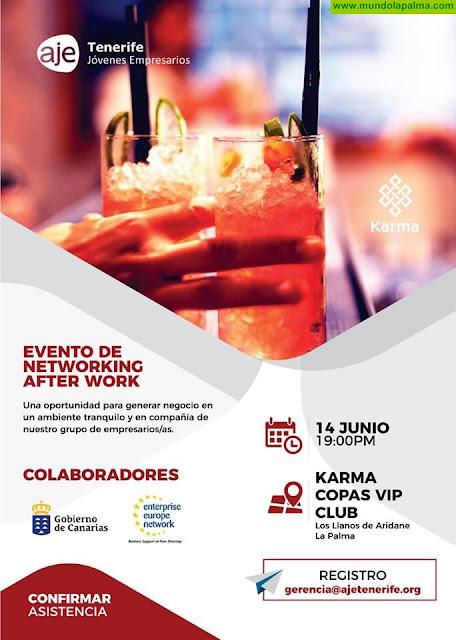 Evento de Networking After Work en Los Llanos de Aridane