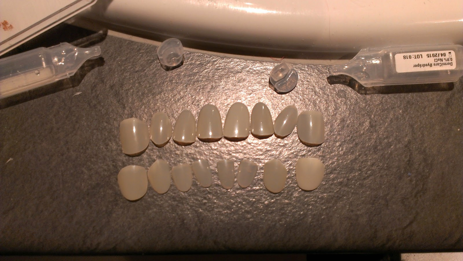 Cover Plastic Teeth