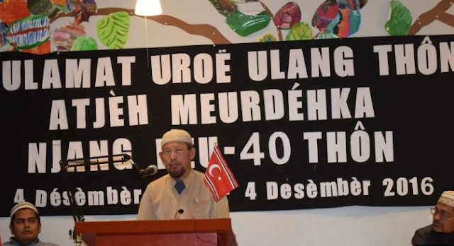 ASNLF Peringati Milad Aceh Merdeka ke 40 di Swedia