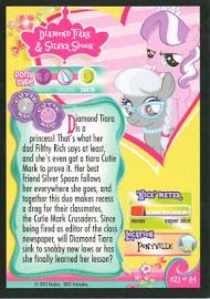 My Little Pony Silver Spoon & Diamond Tiara Series 1 Trading Card