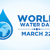World Water Day- A Drop Which Counts