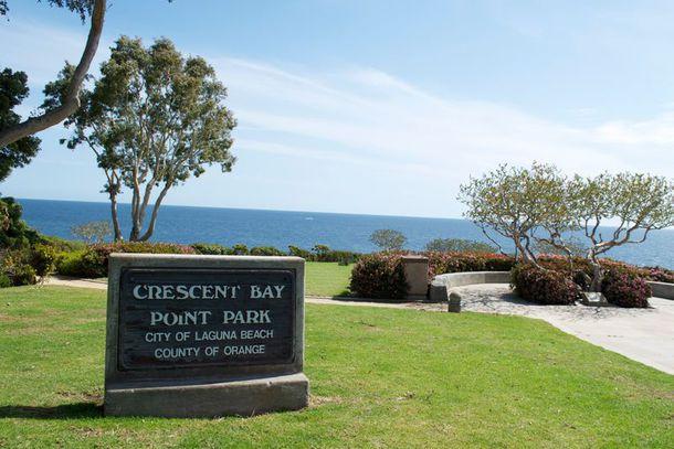 Crescent Bay Point Park em Laguna Beach
