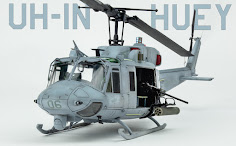 Quickbuild: KittyHawk's 1/48TH SCALE UH-1N Twin Huey.