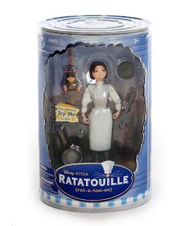 pixar ratatouille disney store figures 2007 colette