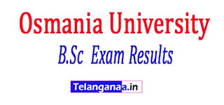Osmania University B.Sc (Forestry) 4 Years (CBCS) 1 Exam Results 2018
