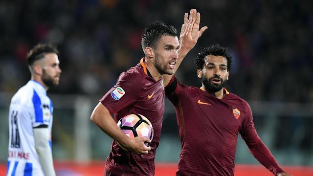 Roma Degradasikan Pescara ke Serie B