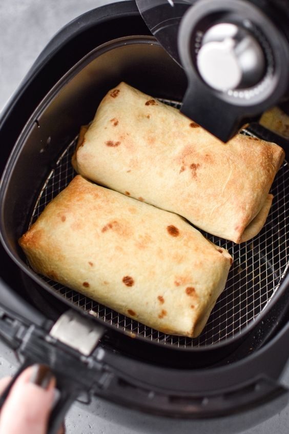 How To Make Chimichangas In An Air Fryer