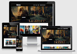 Free Download Moviez Blogger Template Seo Responsive
