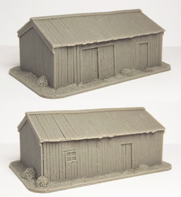 SCN-EF05  Russian barn (Size: 85x55mm)