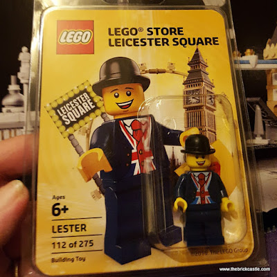 LEGO Lester businessman minifigure in packaging 112 of 275