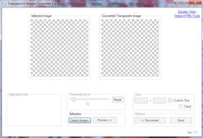 Transparent Image Converter 1.1