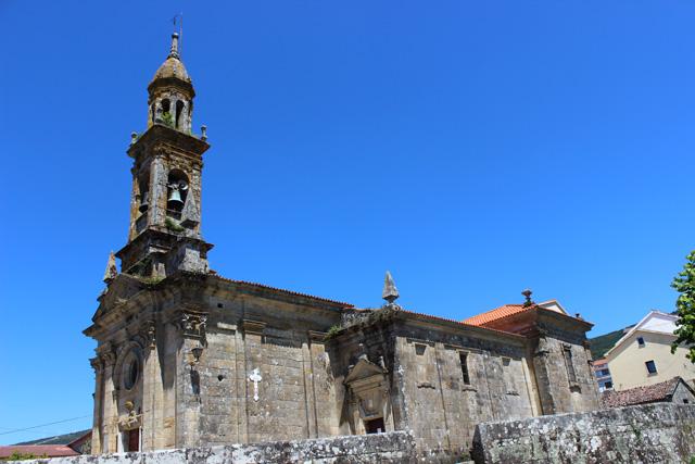 Iglesia de Santa Comba, en Carnota