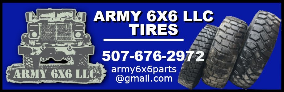 Army 6x6 Tires
