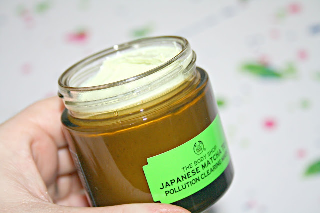 The Body Shop Japanese Match Tea Pollution Clearing Mask