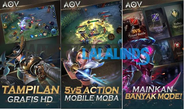 Download Garena AOV Arena of Valor 1.15.9.1 Full OBB