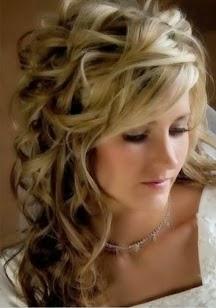 Cute wedding hair style}