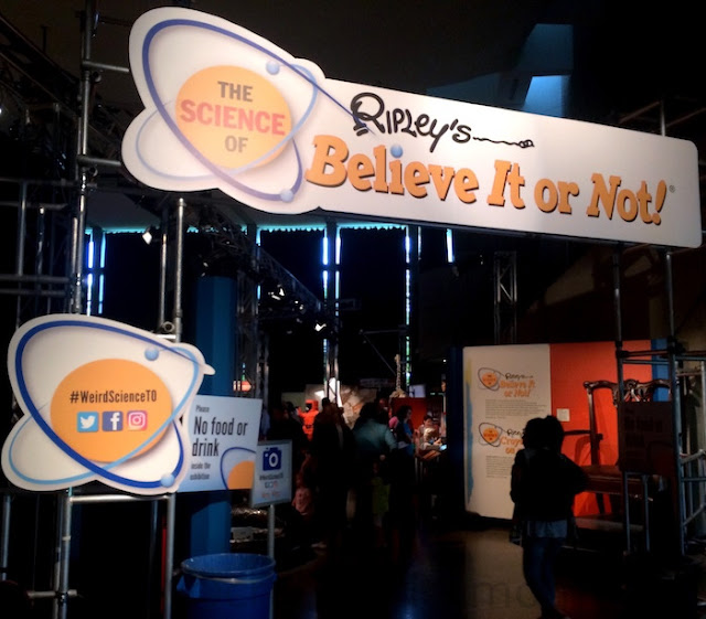 Ripley's Believe It or Not! at the Ontario Science Centre
