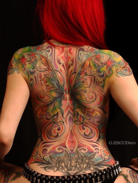 Latest-Stylishly-Challenging-Back-Tattoos-Ideas-for-Women-1