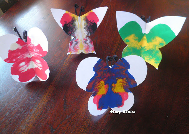 tutorial Farfalle di carta