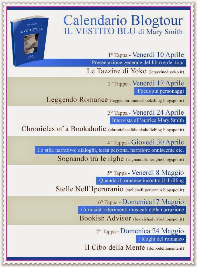 BLOGTOUR IL VESTITO BLU DI MARY SMITH