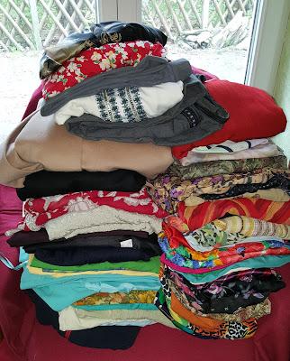 60 Kleidungsstücke mussten gehen